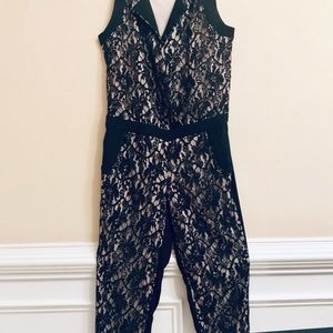 Jessica Simpson Lace Jumpsuit Medium